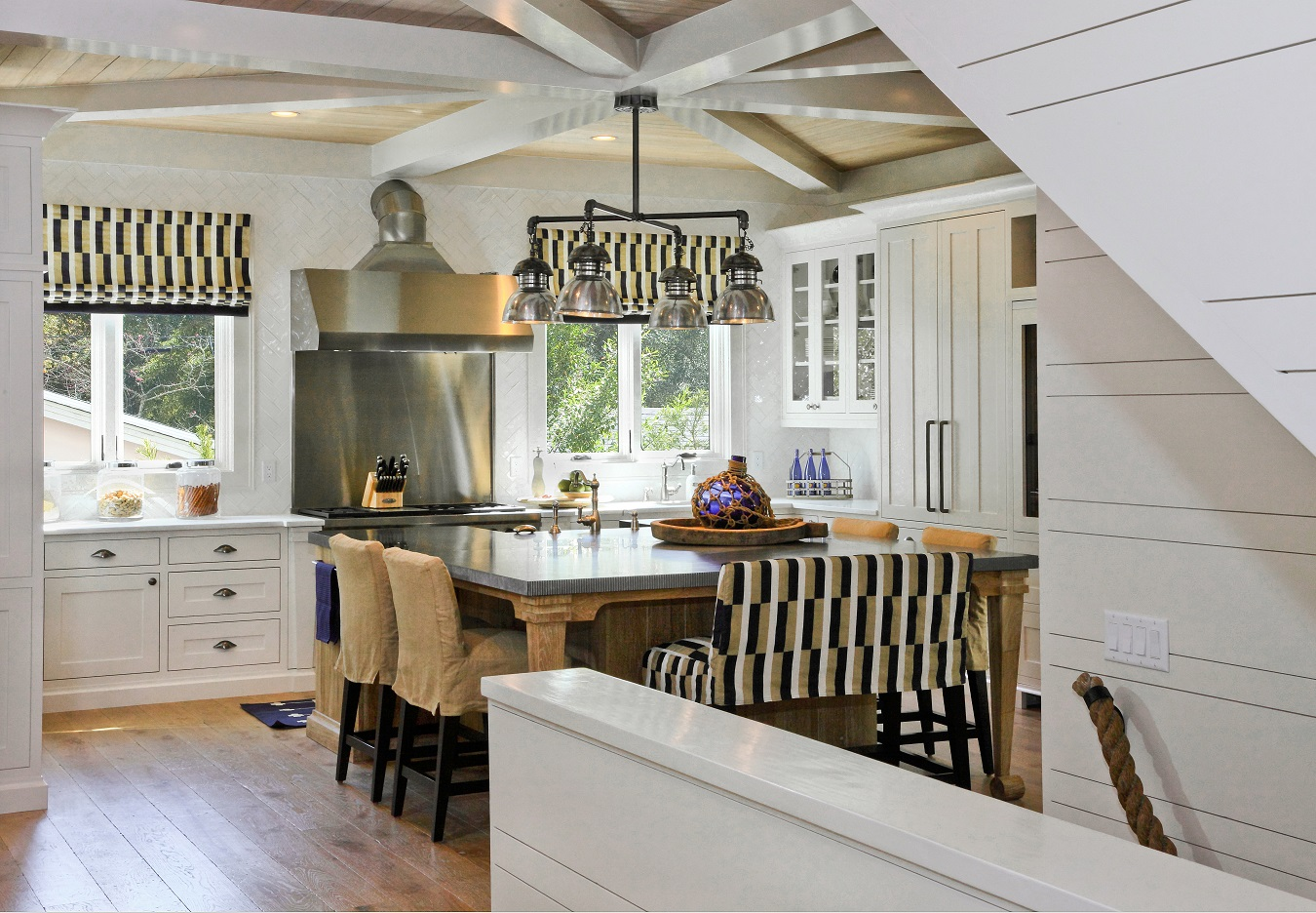 coastal kitchen ssi nautical themed home on st simons island howser 2283